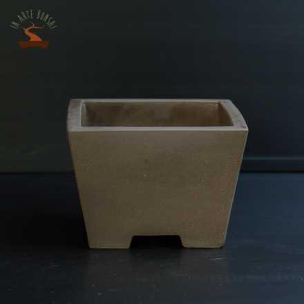 Vaso quadrato 173 mm.