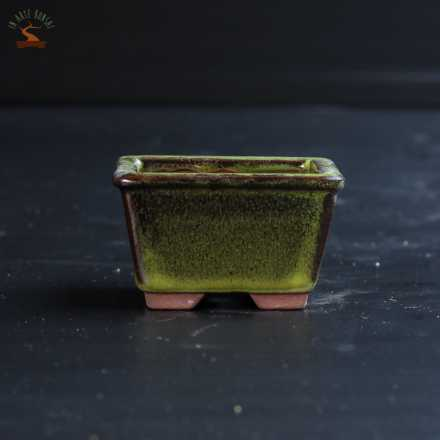 Vaso quadrato 78 mm. per shitakusa