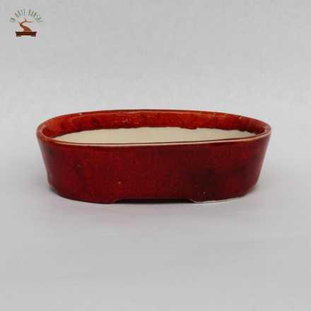 Pot ovale 124 mm.
