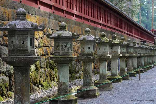 Lanterne a Nikko